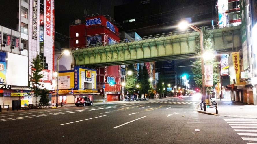 東京秋葉原で深夜徘徊で散歩した写真大量ブログ!他時間帯と見比べも